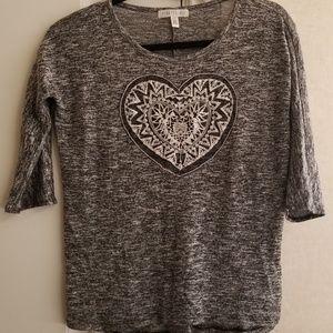 Aeropostale Heart Petite shirt